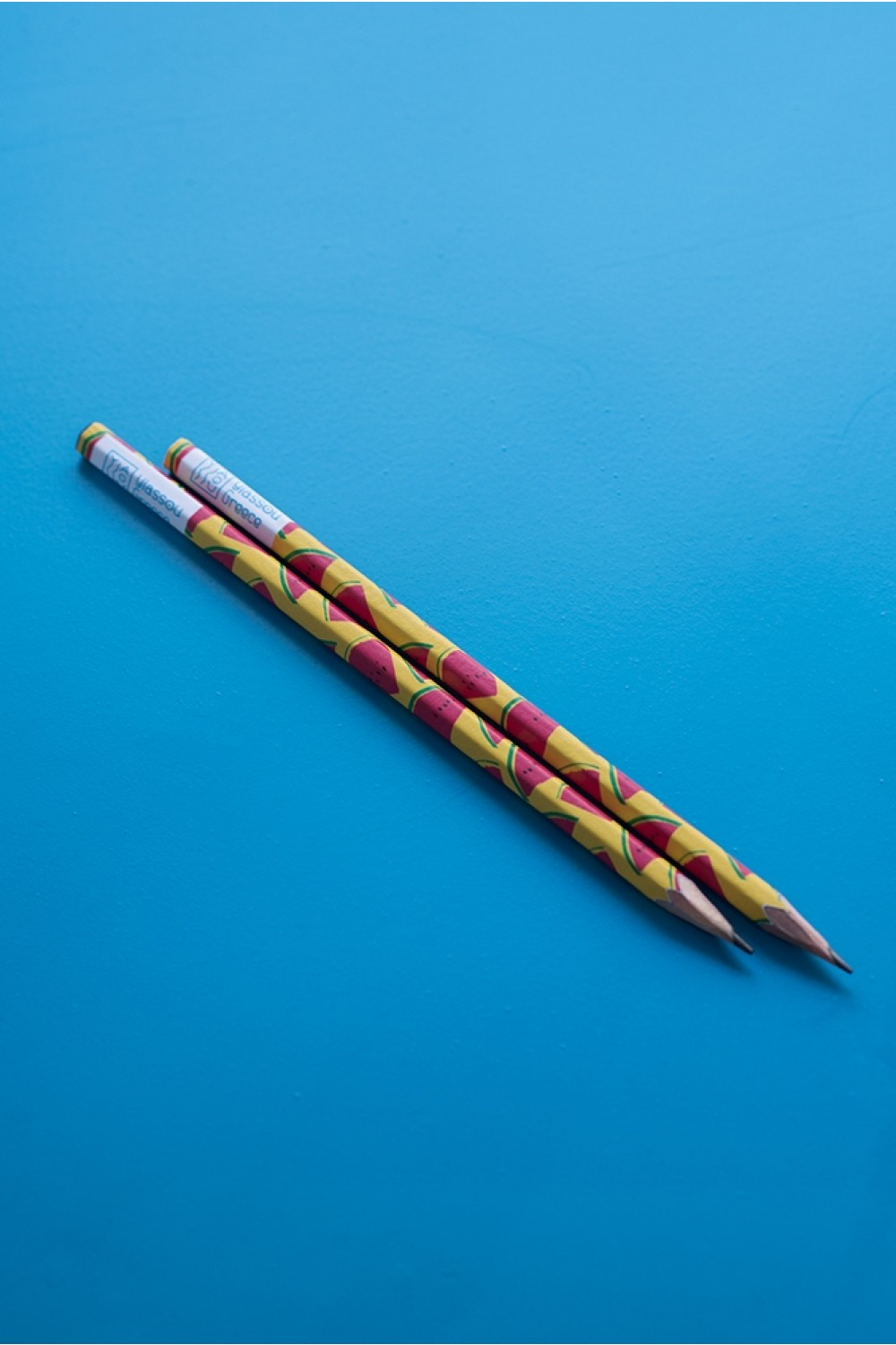 "THE ""WATERMELON"" YELLOW HANDMADE PENCIL"