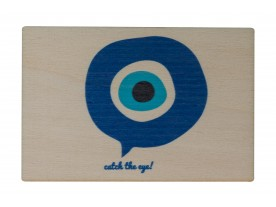 ΤΗΕ 'ΜΑΤΙ' WOODEN POST CARD