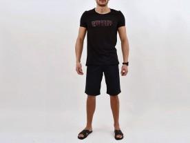 MEN'S BLACK 'KAMARES' LOOSE FIT T-SHIRT