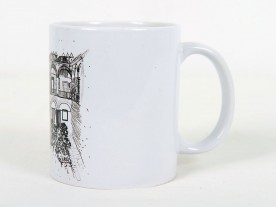 THE 'IMARET' MUG IN BLACK AND WHITE