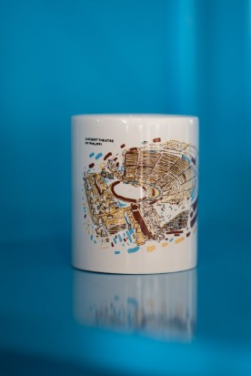 "THE WHITE ""PHILIPPI"" MUG"