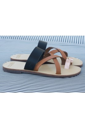 "WOMEN'S LEATHER ""LADIES SLIDE"" 3 COLORS"