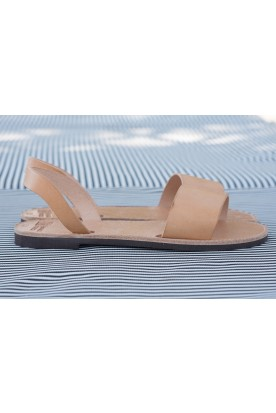 "WOMEN'S LEATHER ""SLIDE SANDALS"""