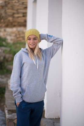 WOMEN'S CLOUD GREY HOODIE