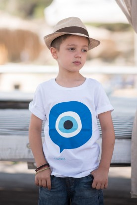 "KID'S T-SHIRT ""MATI"" WHITE"