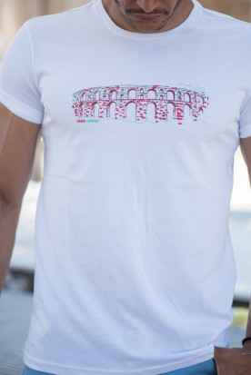 "MEN'S T-SHIRT ""CAMARES"" WHITE"
