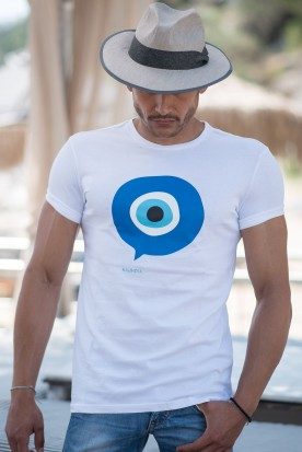 "MEN'S T-SHIRT ""'MATI"" WHITE"