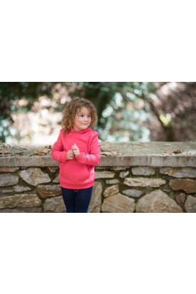 KID'S LIGHT RASPBERRY HOODIE