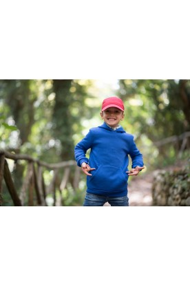KID'S ELECTRIC BLUE HOODIE