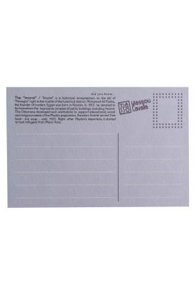 "THE ""IMARET"" PAPER POSTCARD"