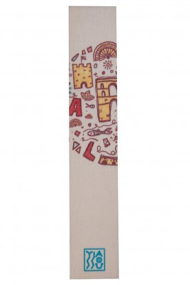 "THE ""CAVALLA"" WOODEN BOOKMARK"