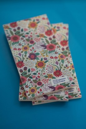 "THE ""FLORAL"" NOTEPAD"