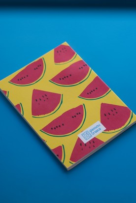 "THE ""WATERMELON"" YELLOW MINI NOTEBOOK"