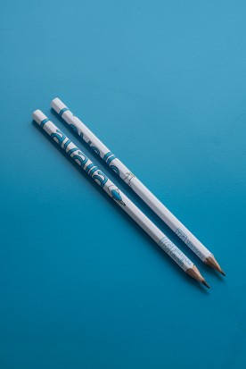"THE WHITE ""CAVALLA"" HANDMADE PENCIL"