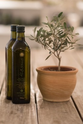 KAVALA COOP EXTRA VIRGIN OLIVE OIL GLASS BOTTLE 750ml