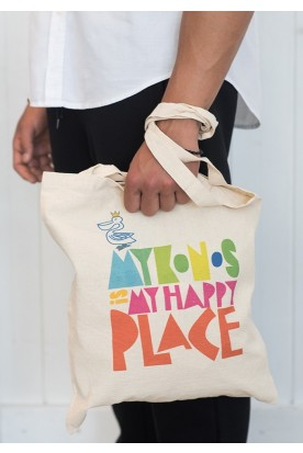 "THE ""HAPPY PLACE"" SHOPPING BAG"