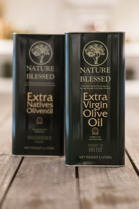 NATURE BLESSED EXTRA VIRGIN OLIVE OIL 5L