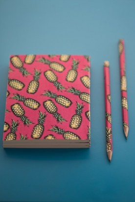 "THE ""PINEAPPLE"" MINI NOTEBOOK"