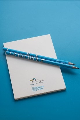 "THE BLUE ""CAVALLA"" HANDMADE PENCIL"