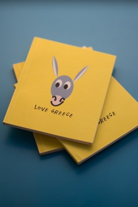 "THE YELLOW ""DONKEY"" MINI NOTEBOOK"
