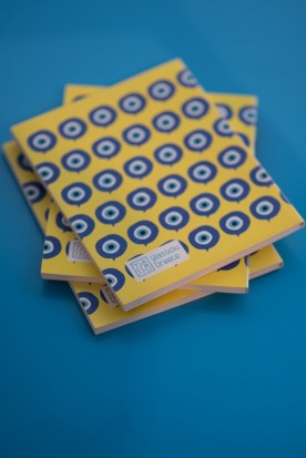 "THE YELLOW ""MATI"" MINI NOTEBOOK"