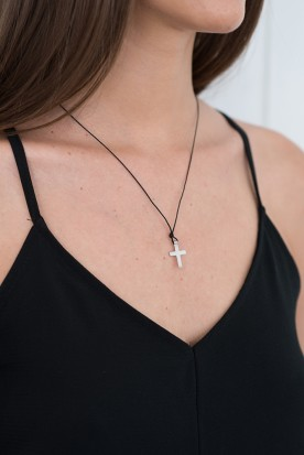 YIASSOU SILVER 925 CROSS NECKLACE