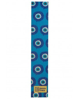 "THE ""MATI"" WOODEN BOOKMARK BLUE"