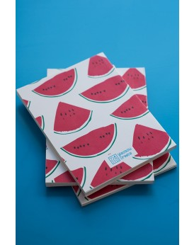 "THE ""WATERMELON"" WHITE MINI NOTEBOOK"